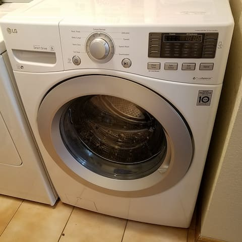 New Front Load LG Washer