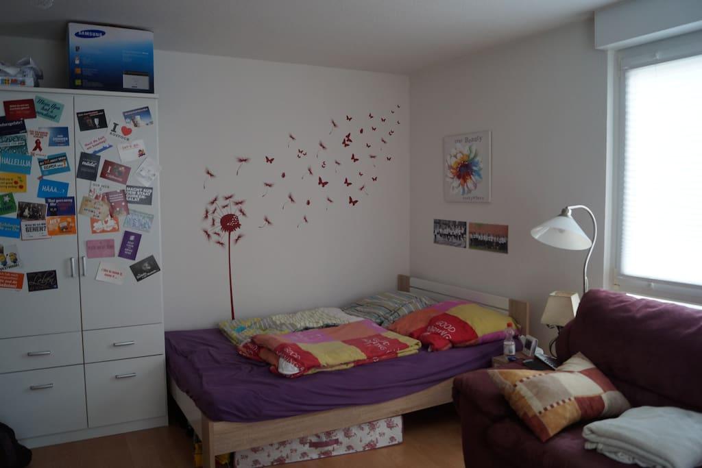 Schlaf- und Wohnzimmer 2