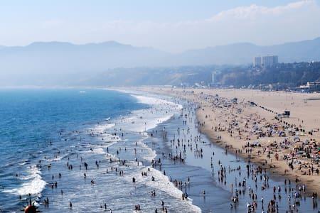 Luxury 2 bed 2 bath apt in SM walk away from beach - Santa Monica