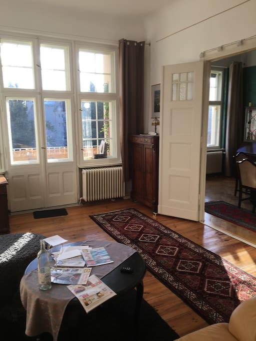 Wohnzimmer - Südseite