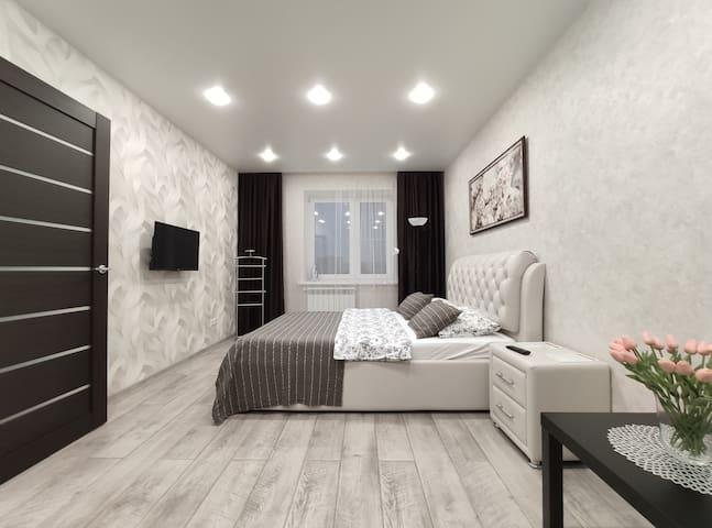 Светлая и стильная квартира