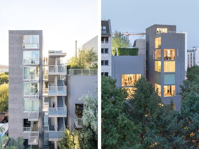Modern Design Loft Berlin Mitte 3.OG, 82 qm