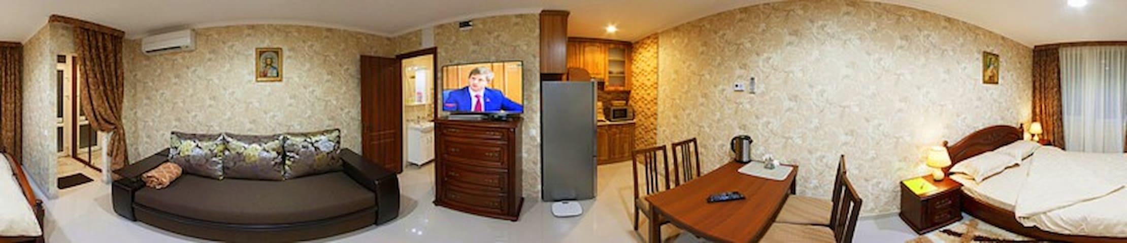 NEW Studio Free WiFi Terrace - Truskavets' - Apartment