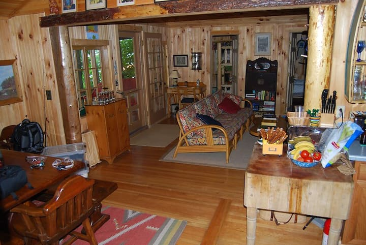 Authentic Adirondack Cabin on 100' of Lake Front