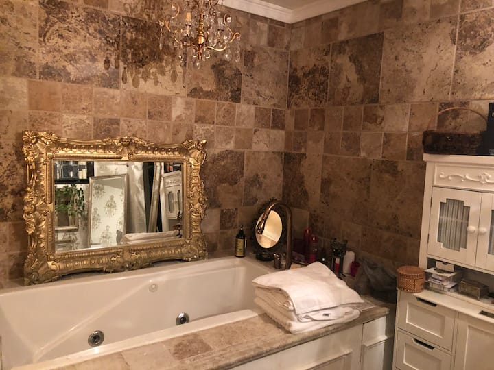 Jacuzzi Suite- Walk to Downtown