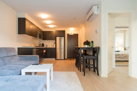 1 bed/Apartment/Netflix/gig WiFi/free parking/1st