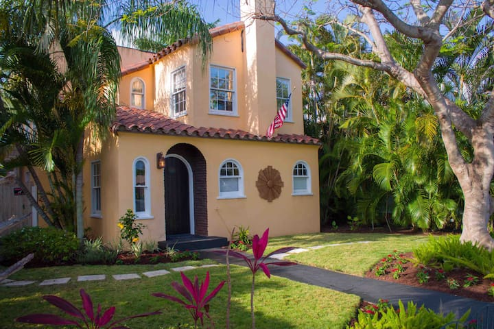The Historic Poinciana  House - built in 1925