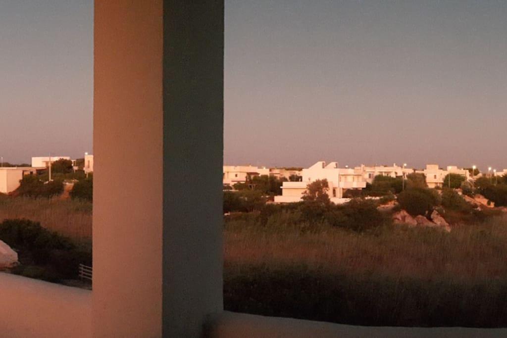 Vista lato mare
