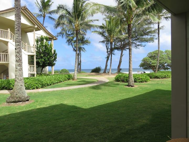 Kauai 'almost' Oceanfront Condo #160