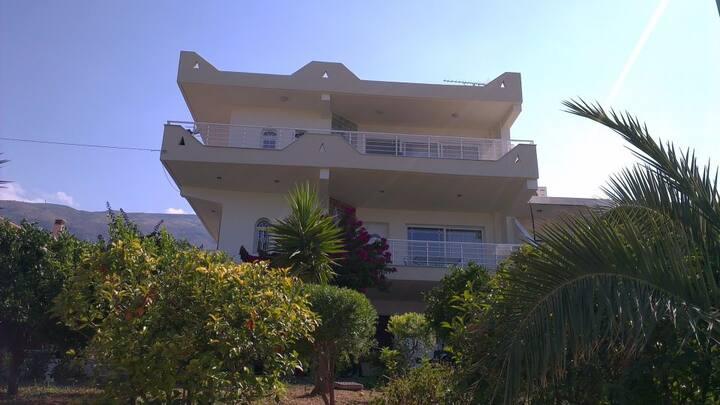 Vakantiehuis aan de Golf van Korinthe