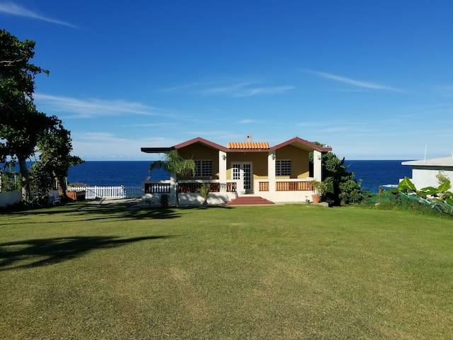 Beach House with an Ocean View