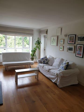 Peaceful stay in leafy Dublin suburban apartment