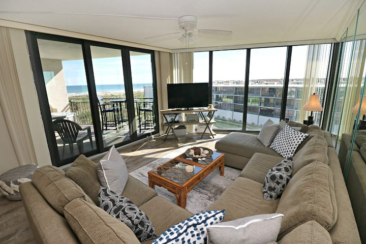 Southern Exposure Anastasia Condos 502 with Ocean View over St. Augustine Beach