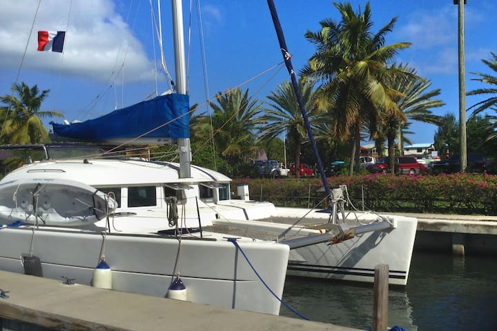 s/v TIMAIAO (3 cabins for max 6 guests) Martinique - Le Marin - Boat