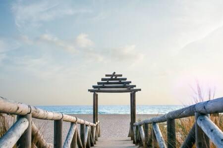 Pura naturaleza en 1ª línea playa.. - Zahara de los Atunes - Huis