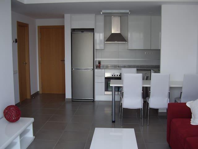 Apartamento  en playa de Moncofar 4 personas. - Moncofa - Apartment