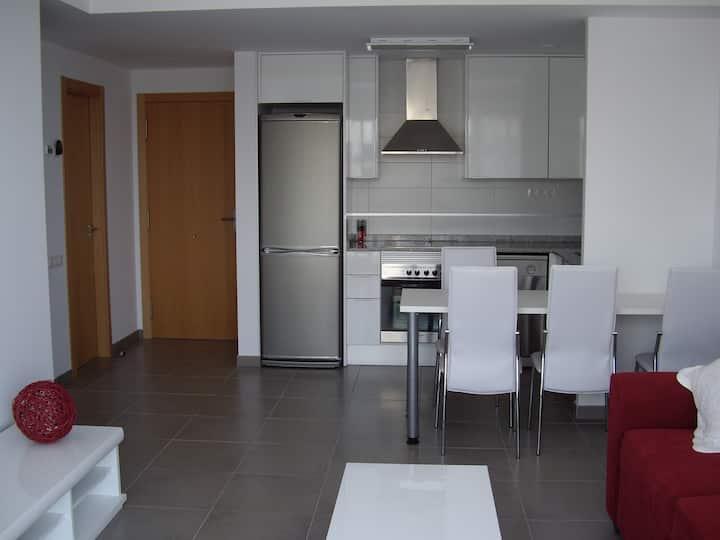 Apartamento  en playa de Moncofar 4 personas.