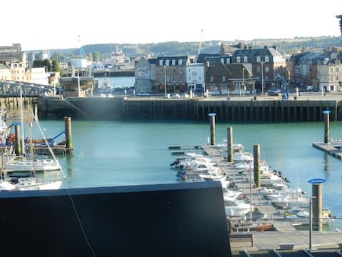 Appartement vue sur le port