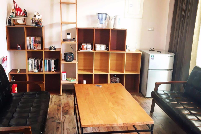 客廳 Living area