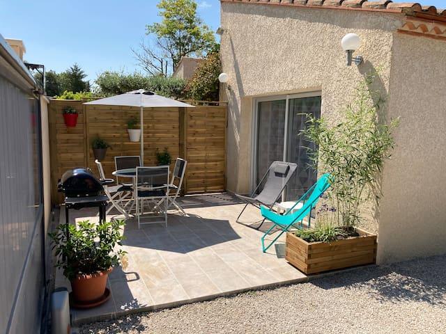 Beau studio au coeur du Languedoc