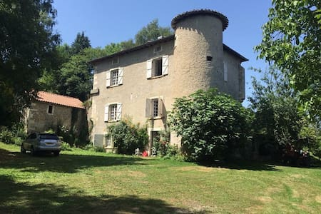 Beautiful 17thC Chateau with pool, sleeps 14. - Cassagne