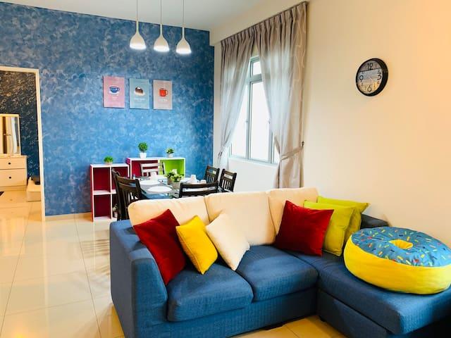 Fairway Cozy Condo 💙 Horizon Hills Johor Bahru 💙