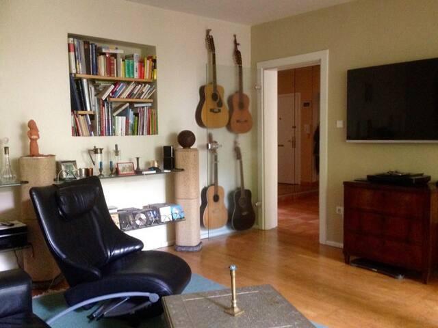Wohnung mit Garten mitten in Hamburg! - Hamburgo - Apartamento