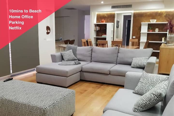 CHELSEA | Family Comfort | 10min Walk to Beach