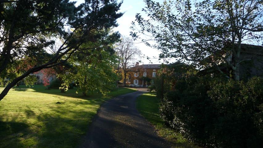 La Tuilarié - Chambre Pégase - Sainte-Cécile-du-Cayrou