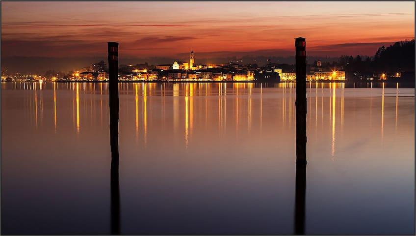 Luce e colore sul Lago Maggiore - Arona - Appartement