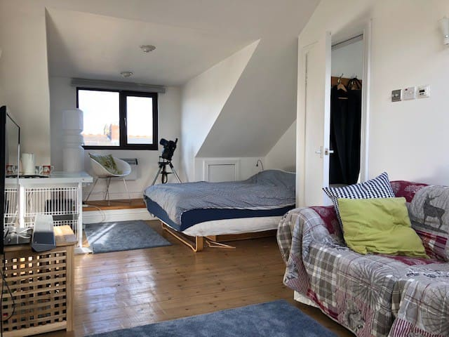 Loft Studio/en suite in Jesmond, Newcastle