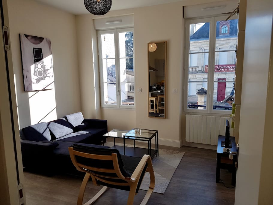 Appartement cosy 40m proche de la gare saint jean for Appartement bordeaux 40m2