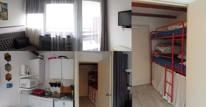 La Mongie - Petit studio cabine - Pied des pistes