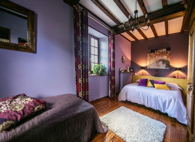 Chambre d'hôtes 2 à 3 personnes Brunia - Formigny - Guesthouse