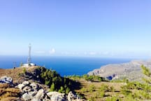 From a nearby hike to Sougia