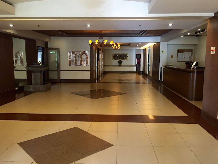 Surabaya Building lobby