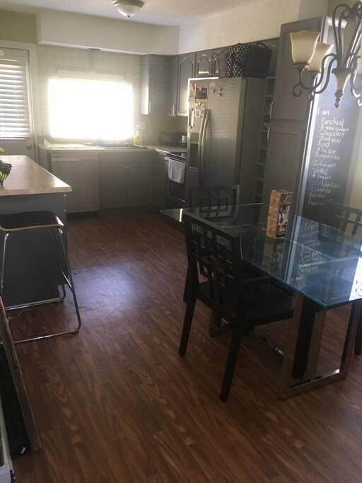 Shared kitchen space!