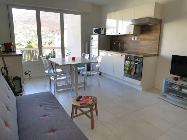 Appartement T2 35m² avec balcon - Annecy-le-Vieux - Apartamento