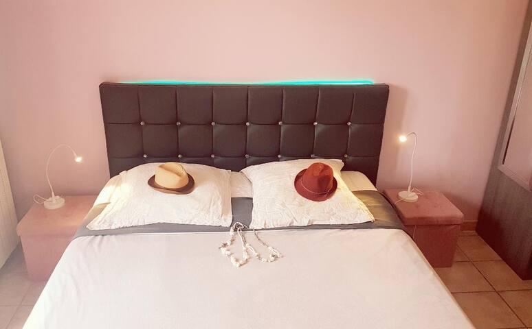 Chambre idéale et confortable pour deux