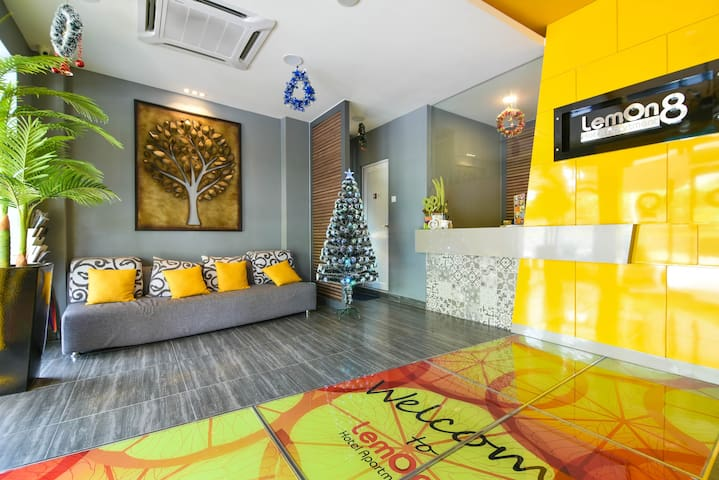 Lemon8 Double Room - Malacca - Appartement