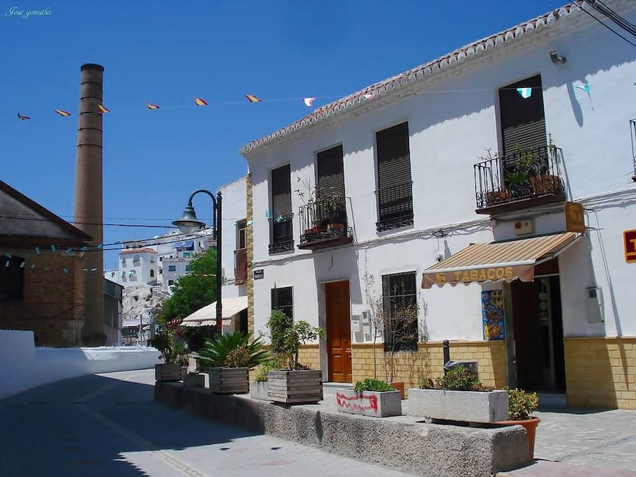 Local shops in La Caleta.