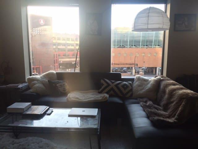 Beutiful loft in the heart of Minneapolis - Minneapolis - Flat