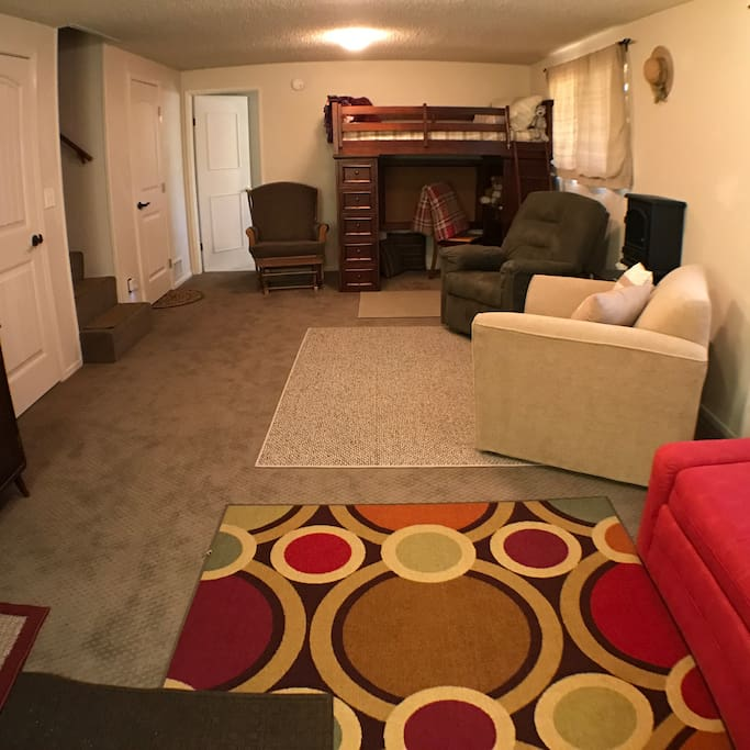 Living Room from entry door.