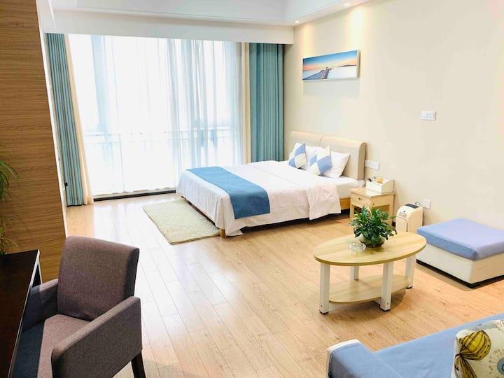 近火车站体育公园旁昌建广场香姐&家61平米酒店式公寓