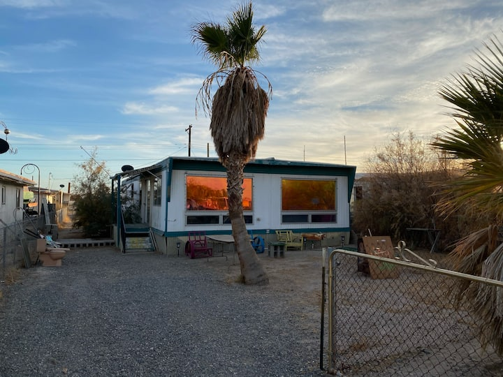 Colorful home in Bombay Beach