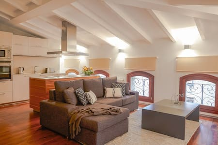 Palau Balear☼ Attic+sloping ceiling - Apartment