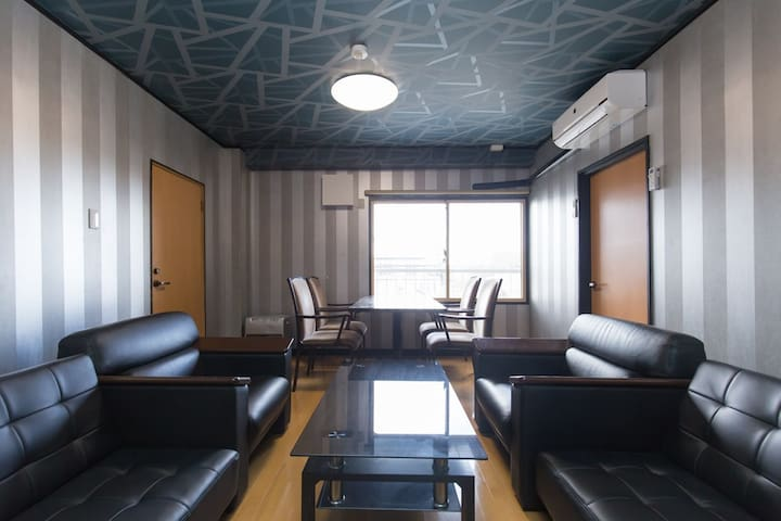 94㎡3BR BeautifulApt nrSTA EasyAnywhere WiFi+TV - Aizuwakamatsu-shi - Apartament