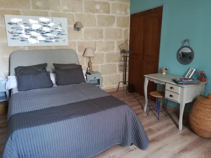 Chambre d'hôtes _en Petite Camargue ( la Mer)
