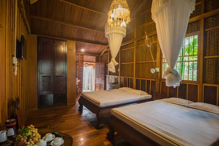 Private bungalow (for 4) in Mekong Rustic Can Tho