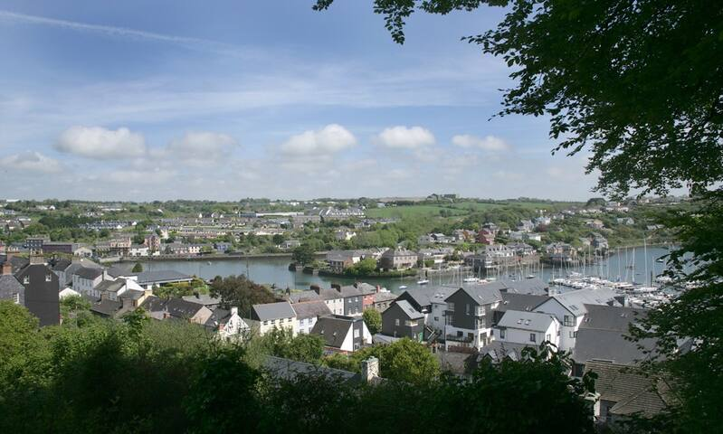 Kinsale, is a picturesque fishing village, just a short bus journey from Cork. Great seafood.